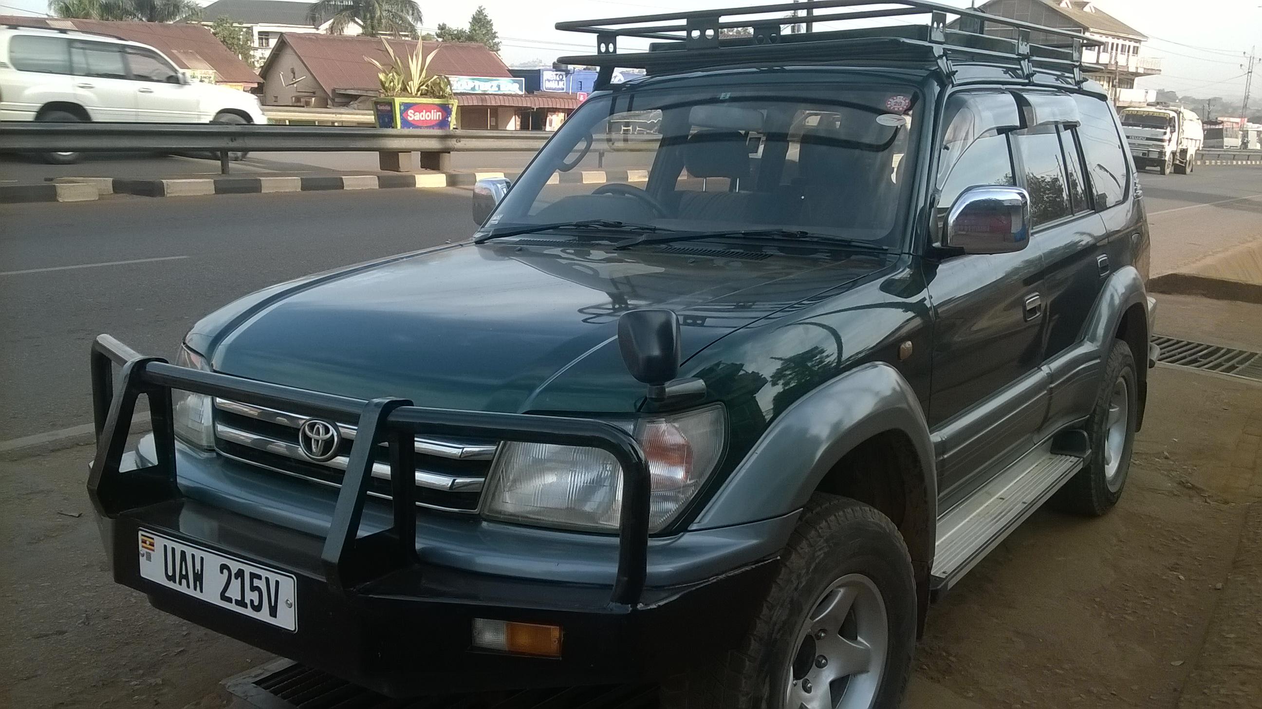 Car Rental in Uganda