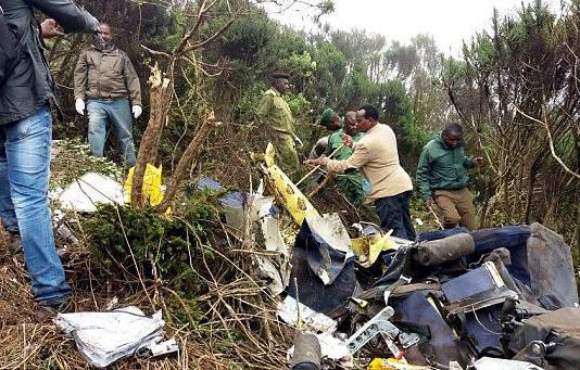 Tanzania Aeroplane Crush