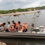 Boat cruise in Murchison