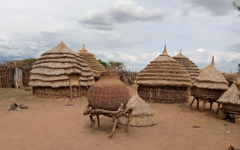 Karamajong Homesteads in Kangole